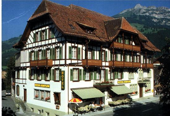 Frutigen, Szwajcaria: Hotel Simplon