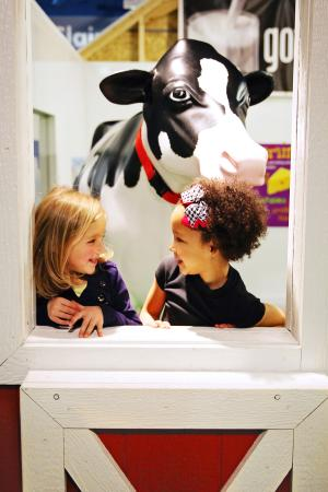"Eau Claire, WI: Oreo the cow is a ""moooo-velous"" friend!"