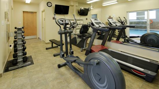 BEST WESTERN King George Inn & Suites: Gym Area