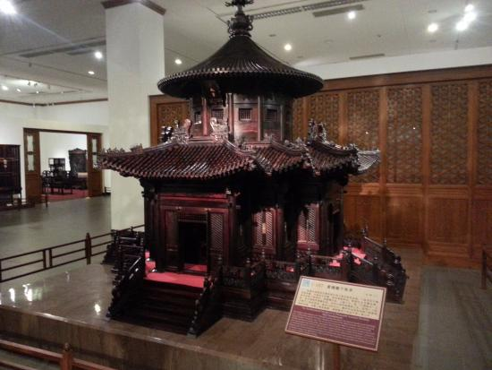 China Red Sandalwood Museun: Scale Model Of Pavilion