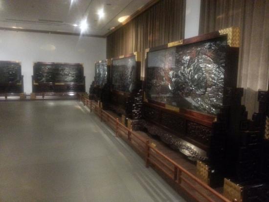 China Red Sandalwood Museun: wall frame