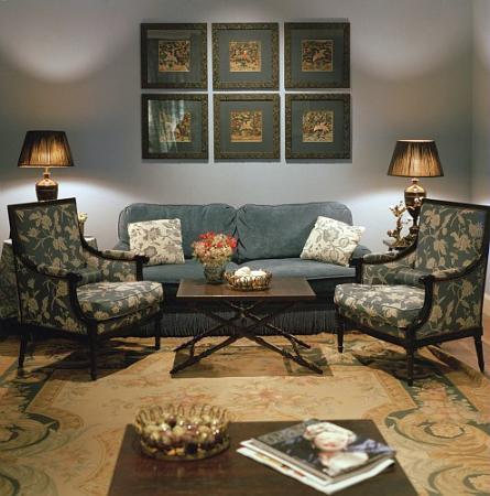 Hotel Le Royal Lyon - MGallery Collection : Salon bleu