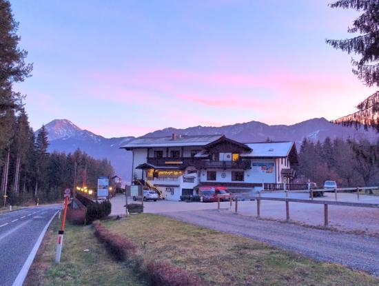 Faak am See, ออสเตรีย: Nordansicht abends