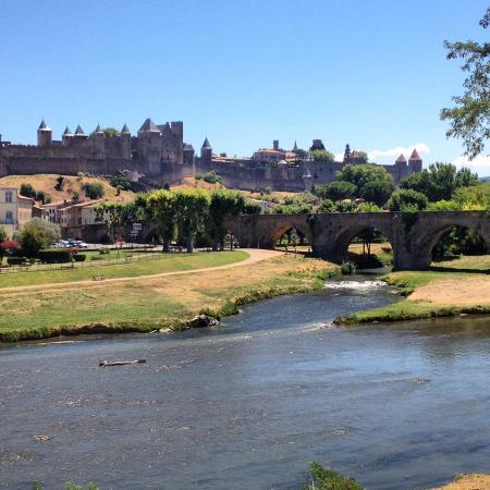 Caunes-Minervois, Francia: Carcassonne 20 minutes from Caunes.