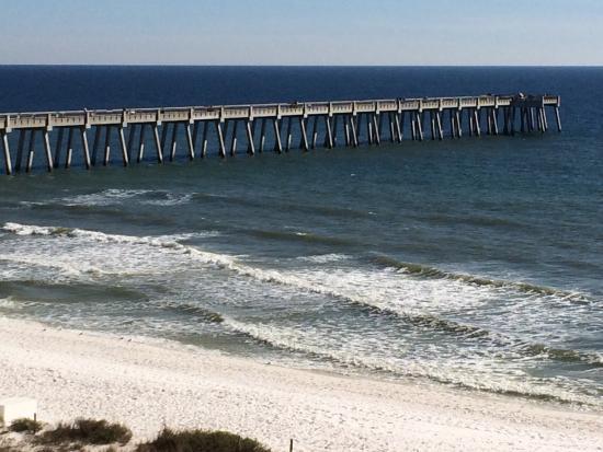 Picture of navarre beach fishing pier for Navarre beach fishing pier