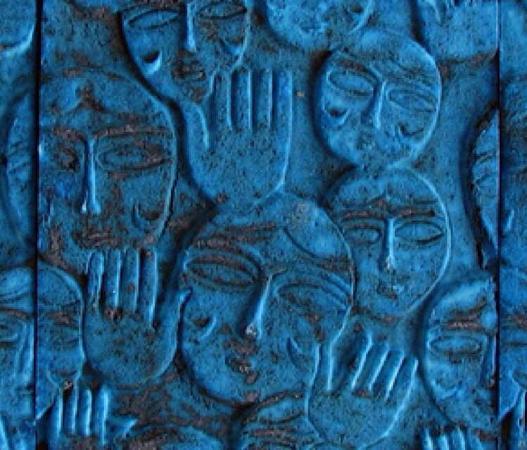 Кум, Иран: Ancient Persian Blue