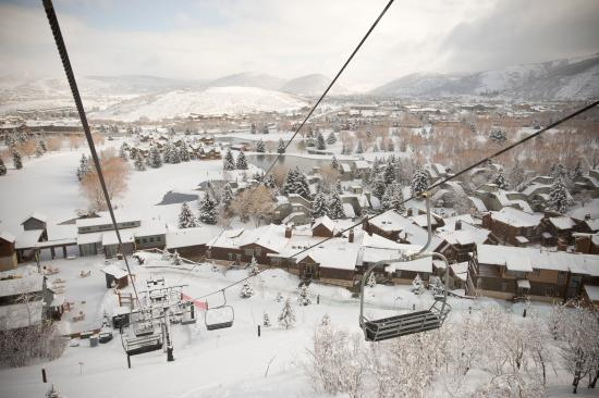 Silver Star at Park City: View of Silver Star from the ski lift.