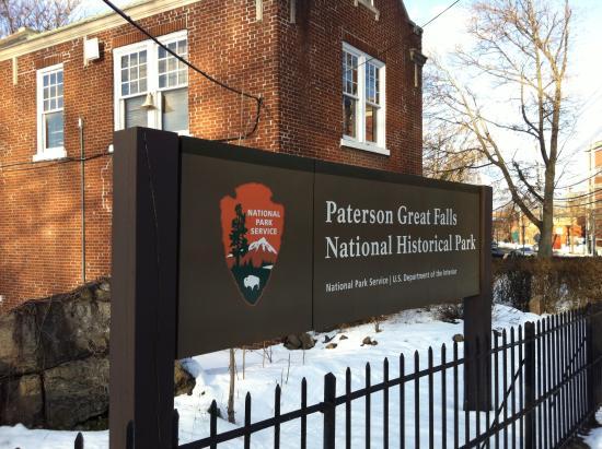 Paterson, NJ: NPS sign