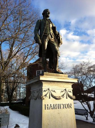Paterson, NJ: Statue of Alexander Hamilton