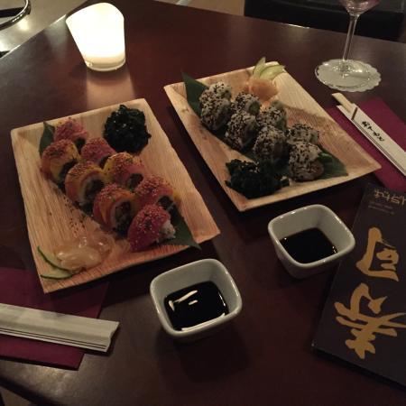TM Cafe Talkwine : Le Mercredi soir soirée Sushi ! Les meileurs que j'aie jamais mangé région Fribourg !