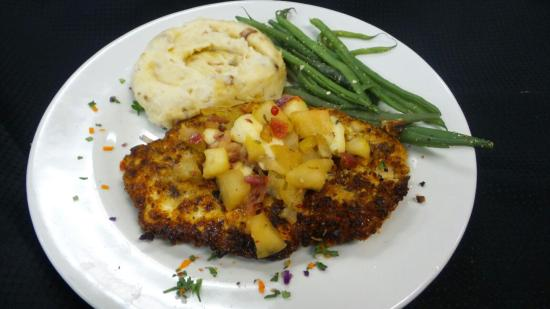 Walnut Crusted Chicken