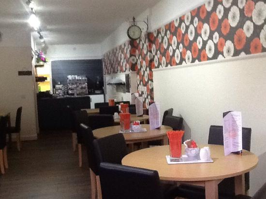 Turriff, UK: Traffords coffee house