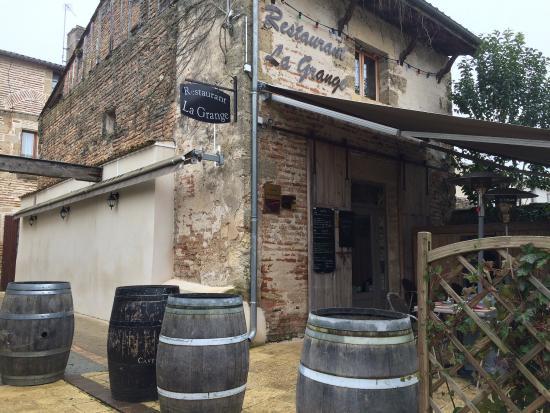 Marmande, France : La grange