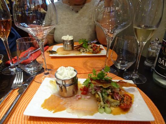 Chinon, Fransa: Excellent repas digne d'un gastronomique