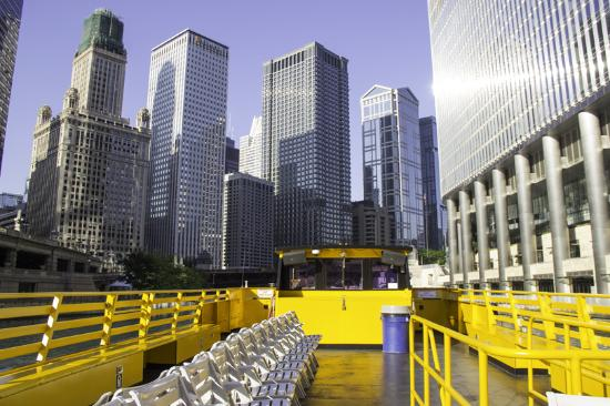 Chicago Water Taxi: Take the selfie of a lifetime while cruisng the river!