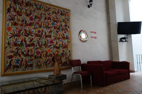 Mexico City Hostel: Common area