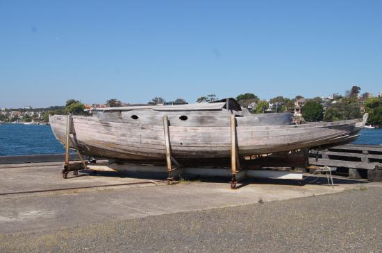 Cockatoo Island, Australien: Boat