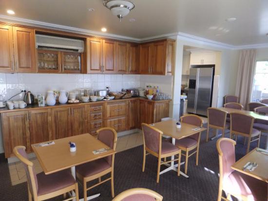 Bathurst, Australia: Breakfast room