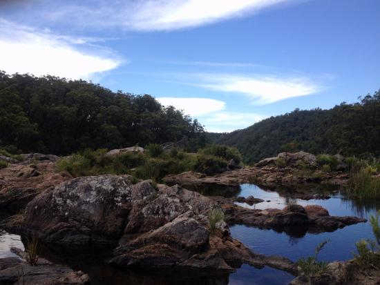 Tenterfield, Austrália: Great base camp, to visit local area, boonoo boonoo falls