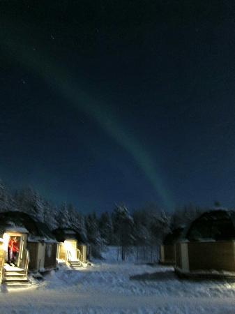 Arctic SnowHotel U0026 Glass Igloos: Northern Lights