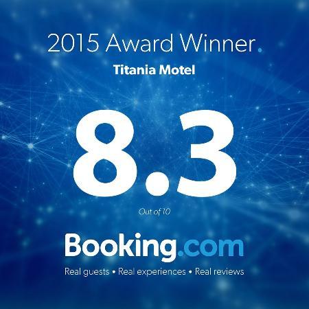 Motel Titania Oberon: Our latest Award