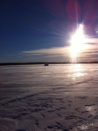Pierreville, Canada: Coucher de soleil