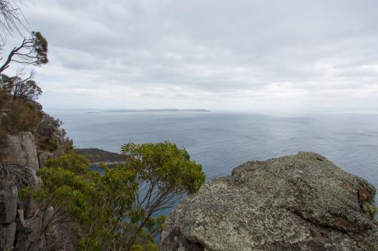 Adventure Bay, Australien: View from the top of the Fluted Cape Walk