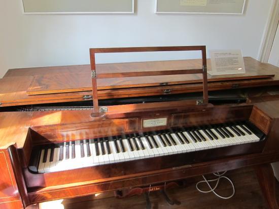 Schumann's Piano In Schumann House