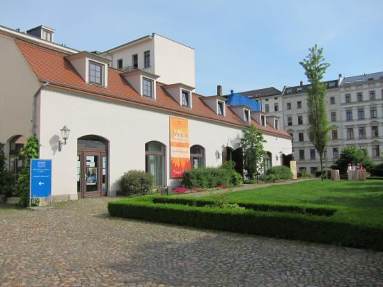 Mendelssohn House in Leipzig a separate building in
