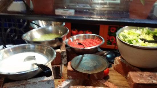 El Torito Mexican Grill : salad bar