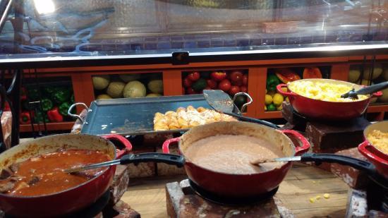 El Torito Mexican Grill : Enchilada, yomy corn paste, meat stew, bean soup...