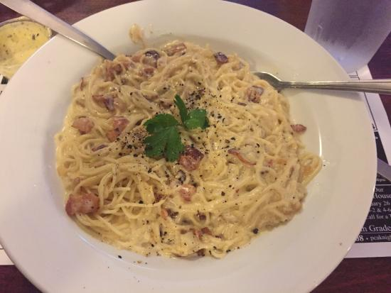 Green Cove Springs, Floryda: Pasta Carbonara