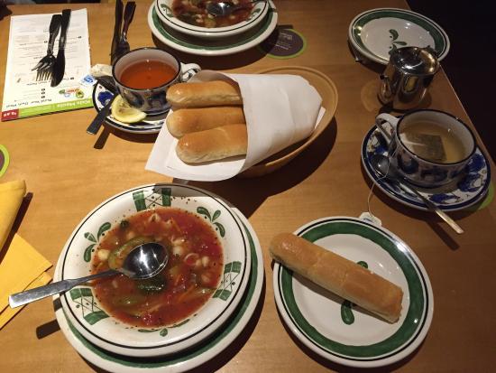 Olive Garden Richmond 11829 W Broad St Menu Prices