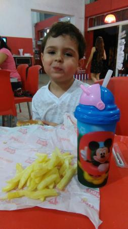 Pergamino, Argentina: Burger Shop