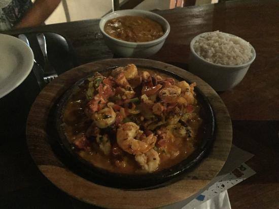 Bianco e NeroRistorante e Pizzeria Bianco e Nero: Moqueca de camarón y pulpo