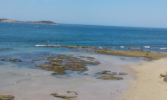 Queenscliff, Australia: It's a great view across the rip!