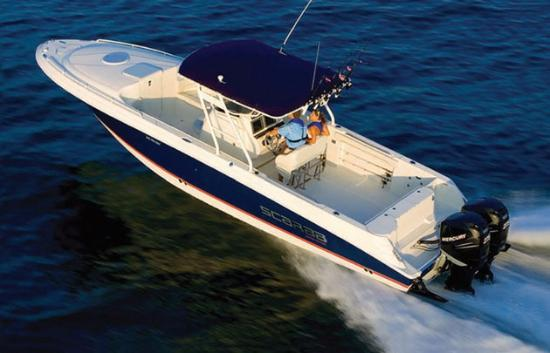 The Shores Resort & Spa: Offshore fishing charter boats available for rental near the resort
