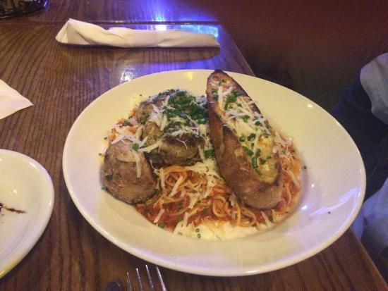 Crush: Spaghetti and meatballs