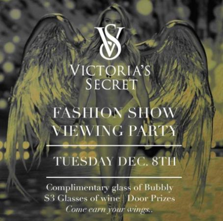 White Rock, Kanada: The Victoria's Secret Viewing Party At The Hemingway