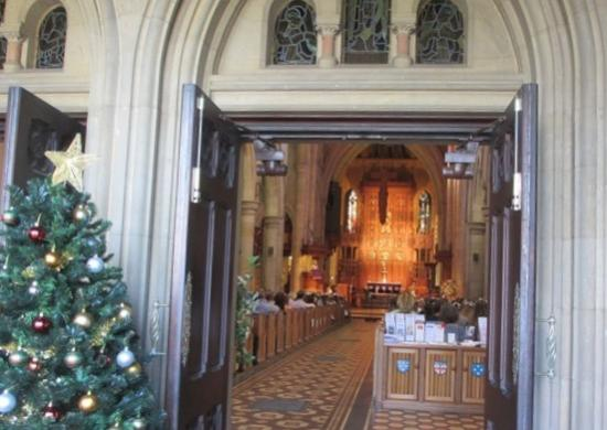 St Peter's Cathedral: Chrismas  service