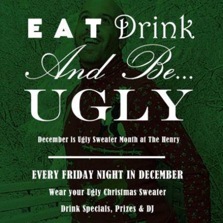 Surrey, Kanada: December 19th at JRG Public Houses, and EVERY Friday at The Henry – The Ultimate Ugly Sweater Pa