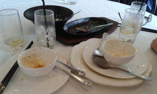 Huskisson, Australia: This is all that's left when we have dinner here!