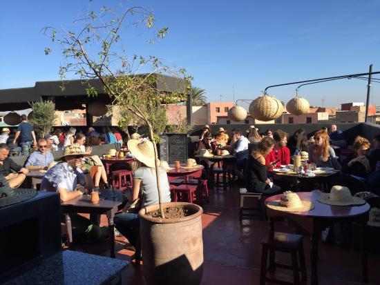 Terrasse des epices picture of la terrasse des epices marrakech tripadvisor - Photo de terrasse ...