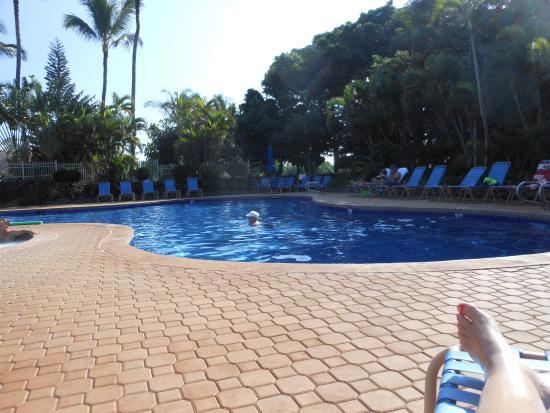 Maunaloa, Hawaje: Pool