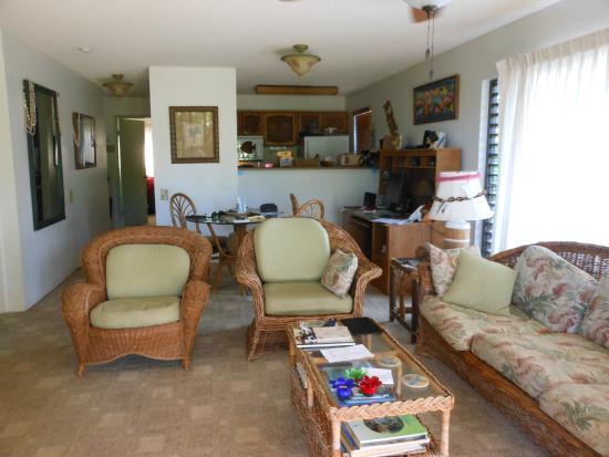 Maunaloa, Hawái: Living Room