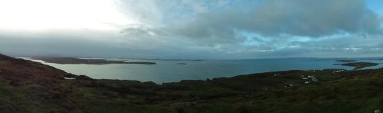 Clifden, İrlanda: Sky road