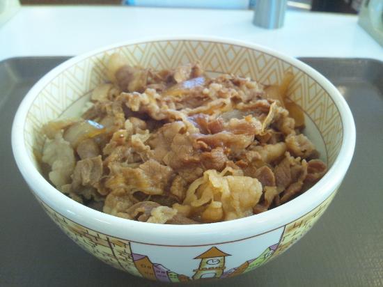 Showa-cho, Japan: 牛丼