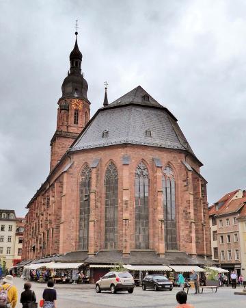 Altstadt (Old Town) : 聖霊教会
