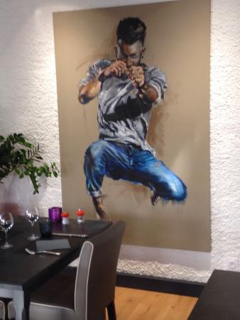 Mantry, Francja: Restaurant La Fontaine