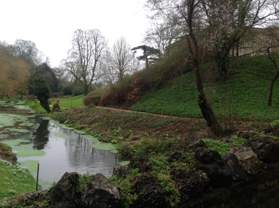 Ston Easton, UK: Grounds